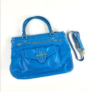 Blue Nine West purse